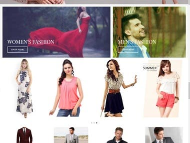 WordPress Fashion Site