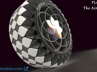 FLORA-The Airless Tire
