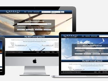 Aircraft Search - PHP