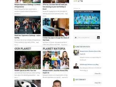 WordPress blog integration into Social Netoworking site
