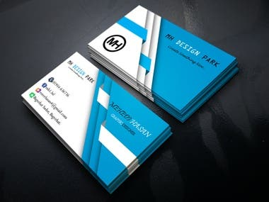 business card and professional photo editing