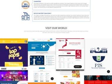 Web Design & Development; Responsive Web App