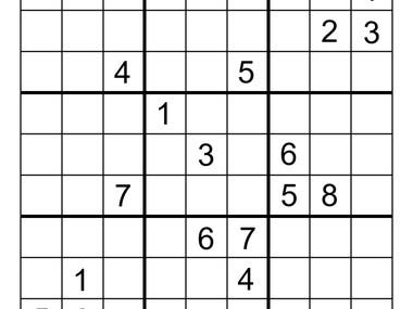 Digits detection in Sudoku Grids using OpenCV