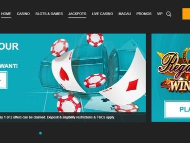SEO for Galacasino Casino Website