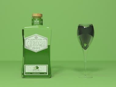 Gin Bottle