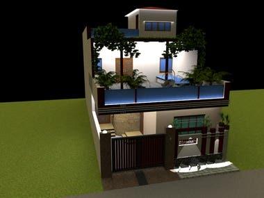 3d designing & Rendering