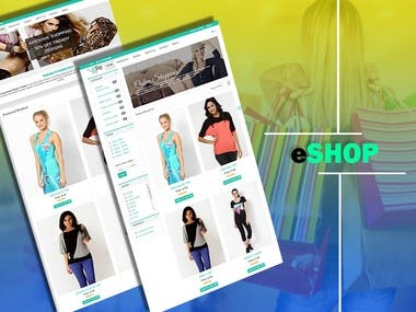 eShop Template for eCommerce Websites