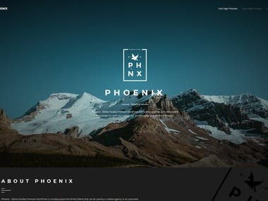WordPress Minimal Multipurpose Portfolio