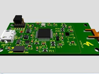 LoRa_SAMD21_PCB_design