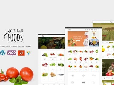 Organic Store WooCommerce WordPress Theme