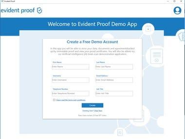 Desktop Application Design