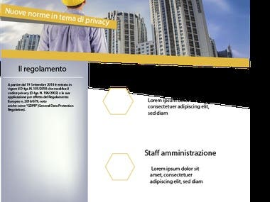 Example of a Brochure