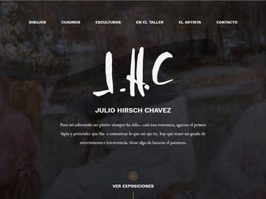 Web. www.juliohirschchavez.com.ar