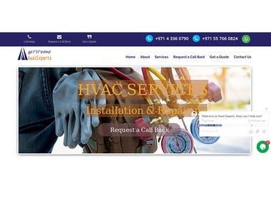 Service Provider Website