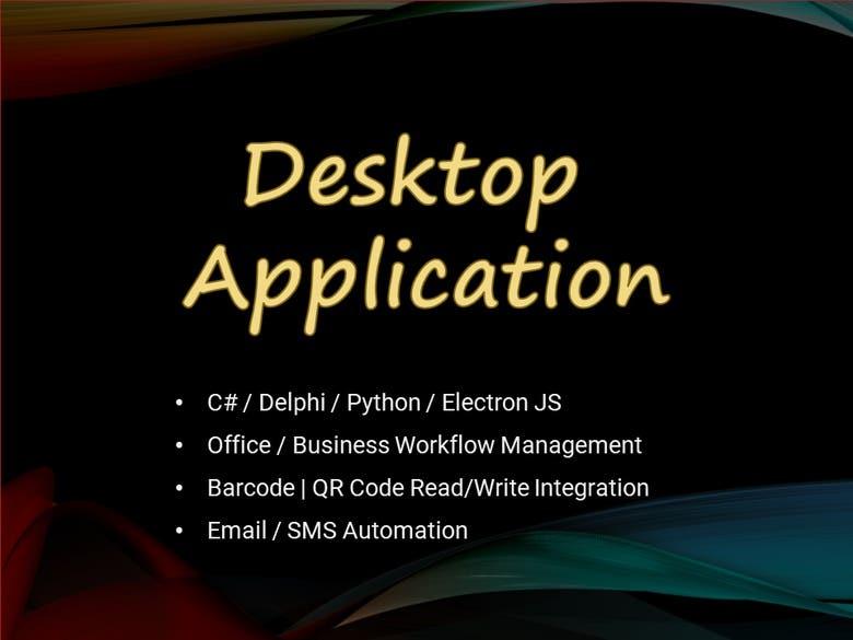 Desktop Application Development | Freelancer