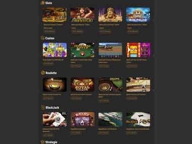HappyWinner Gaming Website - Laravel php Framework