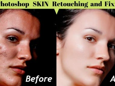 Photo Edit, Face retouch and fixing
