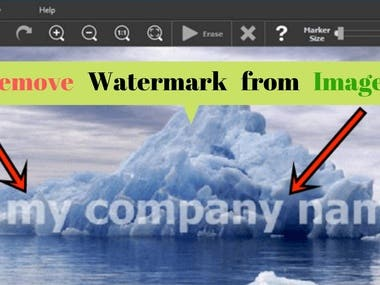 Remove Watermark from images