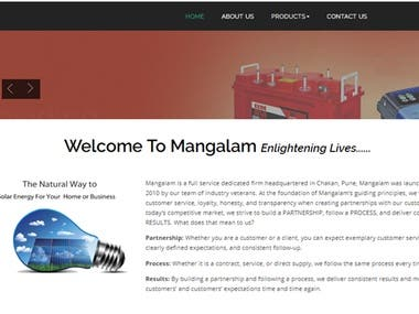 Mangalam Batteries