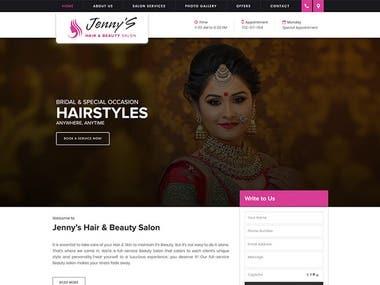 Jenny's Hair and beauty salon