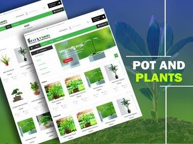 POT N PLANTS - ECOMMERCE WEBSITE