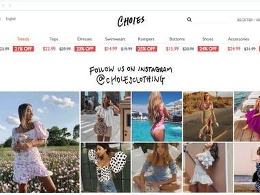 Fashion & Online Shop