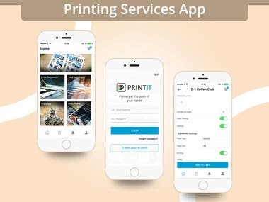 Printing Services App