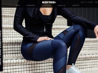 Shopify - karmaathletics.com