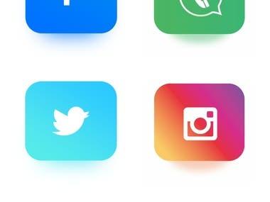 Mobile App Screen Shots