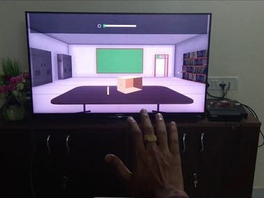 Gesture Destection & Augmented Reality
