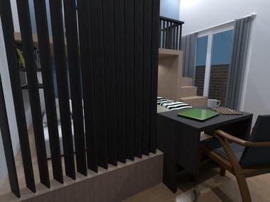 Bedroom Design (Night)