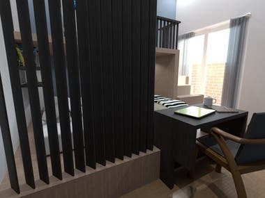 Bedroom Design 3 (day setting)