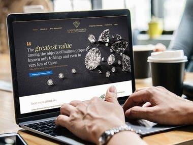 London Diamond Website