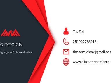 My business card designs