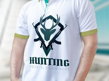 T-shirt design, you can want a logo for your business.