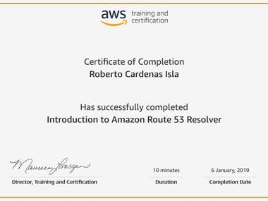 AWS Introduction Amazon Route 53 Resolver
