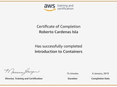 AWS Introduction to Containers