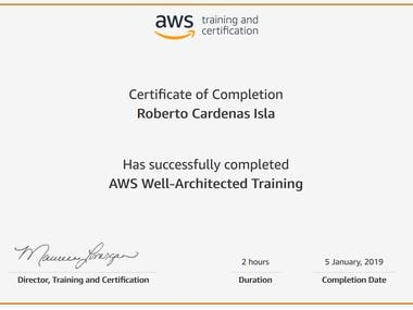 AWS Well-Architected Training
