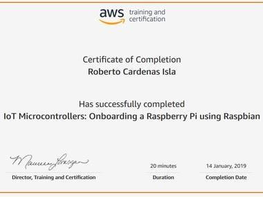 IoT Microcontrollers: Onboarding a Raspberry Pi using Raspb