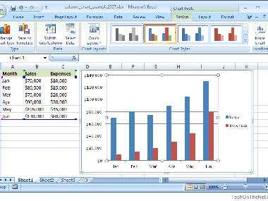 Business Report in Excel