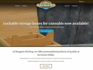 Custom eCommerce Website