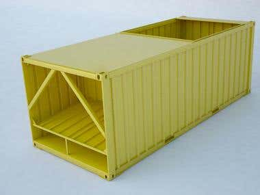 container for grain