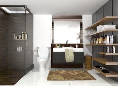 toilet and bath renovations