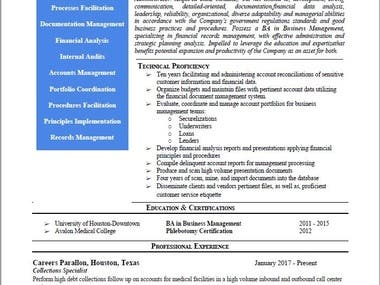 STAFFING and CONSULTATION SERVICES & RESUME/CV WRITING
