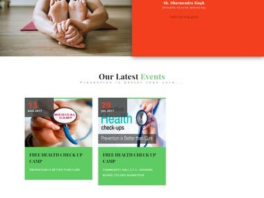 Design and develop an NGO website