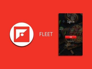 Fleet Delivery App Design