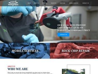 South Texas Windshield Repair - WordPress Project