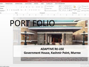 Presentation for Minister of Housing,
