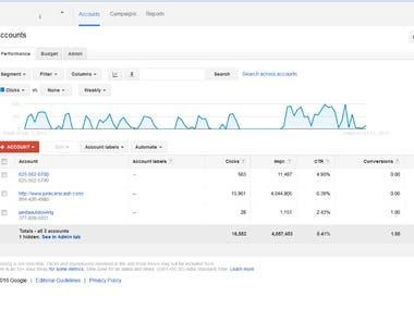 Google Adwords | PPC Report