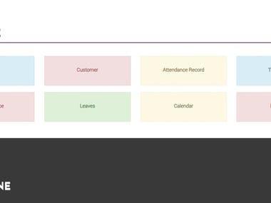 Admin Portal for Manpower